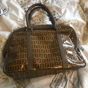 Fendi Bags - Fendi Vintage Zucchino Handbag.